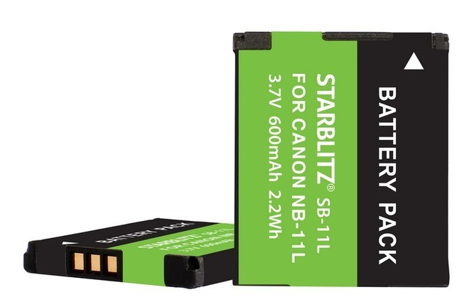 STARBLITZ Batterie compatible Canon NB-11L