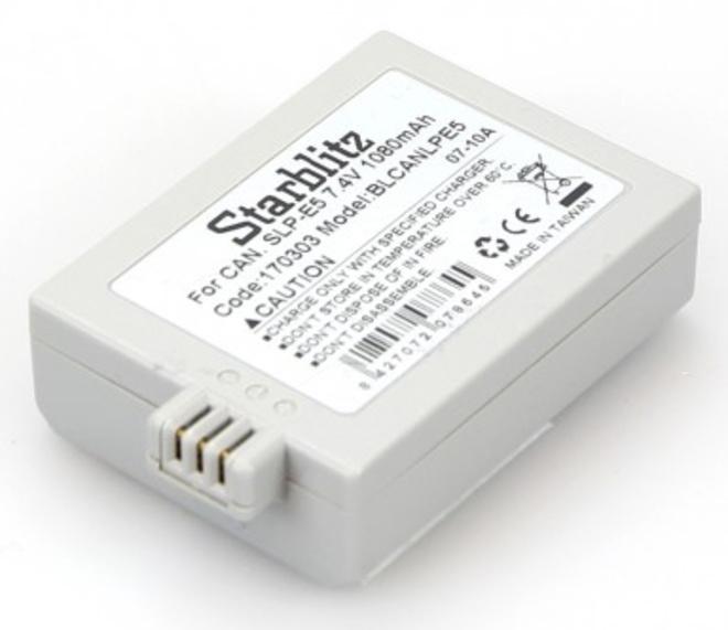 STARBLITZ Batterie compatible Canon LP-E5