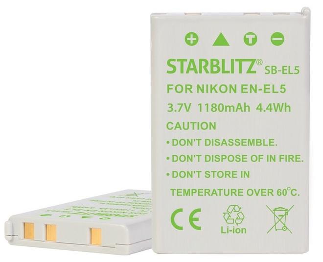 STARBLITZ BATTERIE COMPATIBLE NIKON EN-EL 5