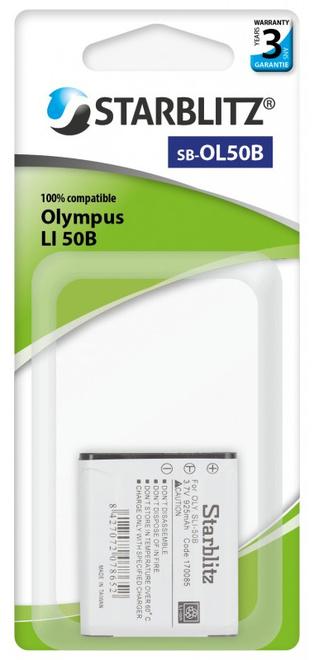 STARBLITZ BATTERIE COMPATIBLE OLYMPUS SB-OL50B