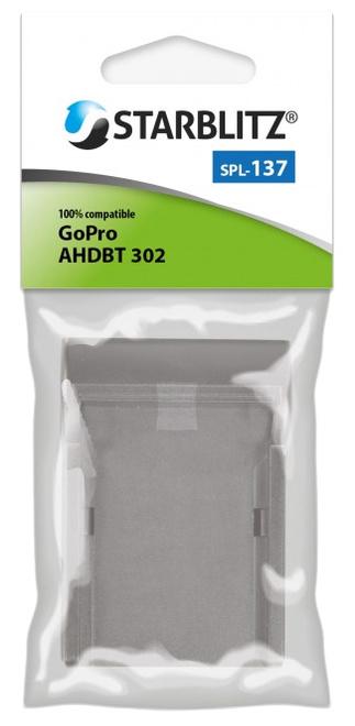 STARBLITZ PLAQUE DE CHARGE GOPRO AHDBT-302