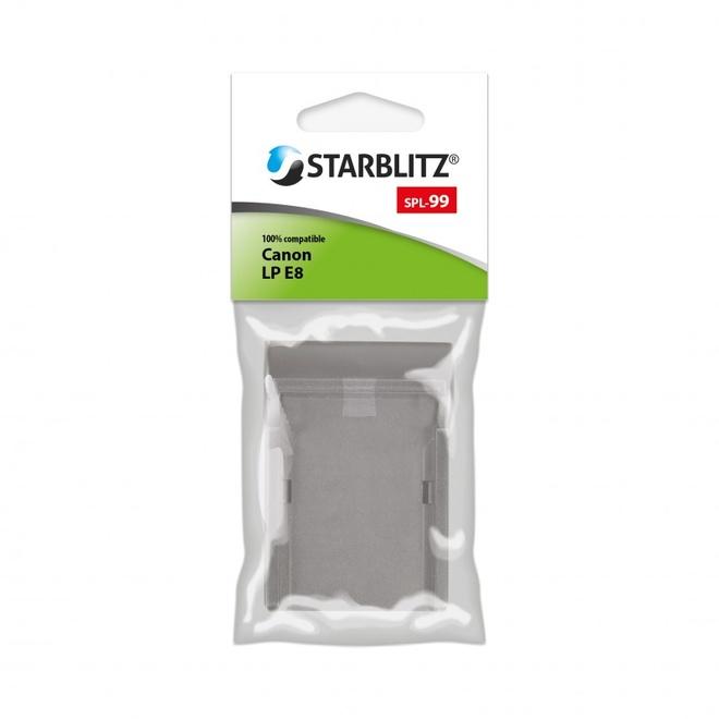 STARBLITZ PLAQUE DE CHARGE SB-E8 POUR LP-E8