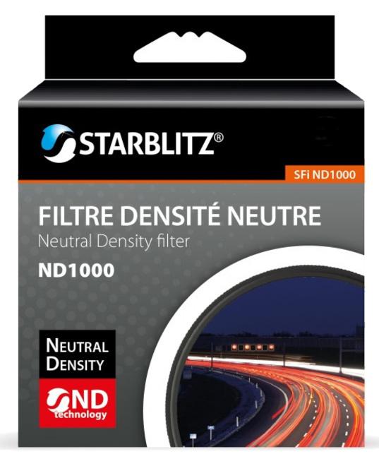 STARBLITZ FILTRE ND1000 52 MM GRIS NEUTRE
