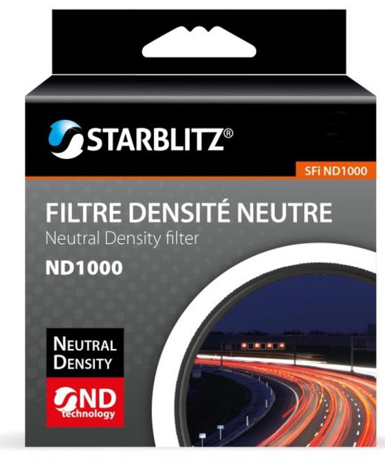 STARBLITZ FILTRE ND1000 62 MM GRIS NEUTRE