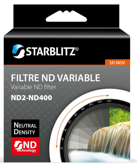 STARBLITZ Filtre ND variable 67 ND2-ND400