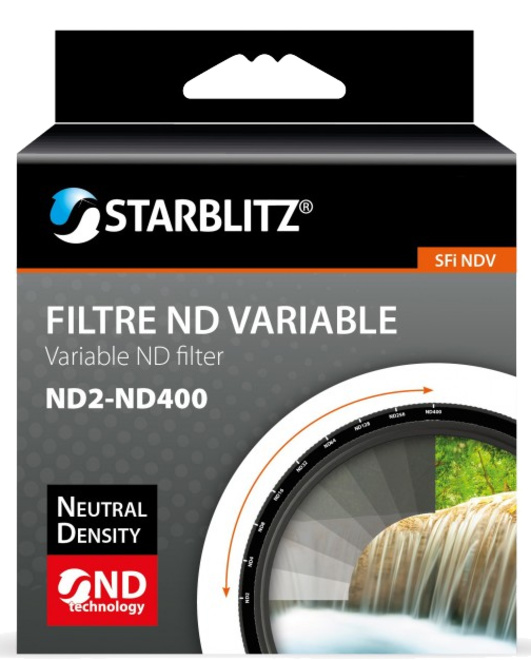 STARBLITZ Filtre ND variable 82 ND2-ND400