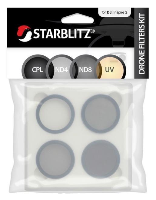STARBLITZ Kit de 4 filtres drone DJI Inspire 2