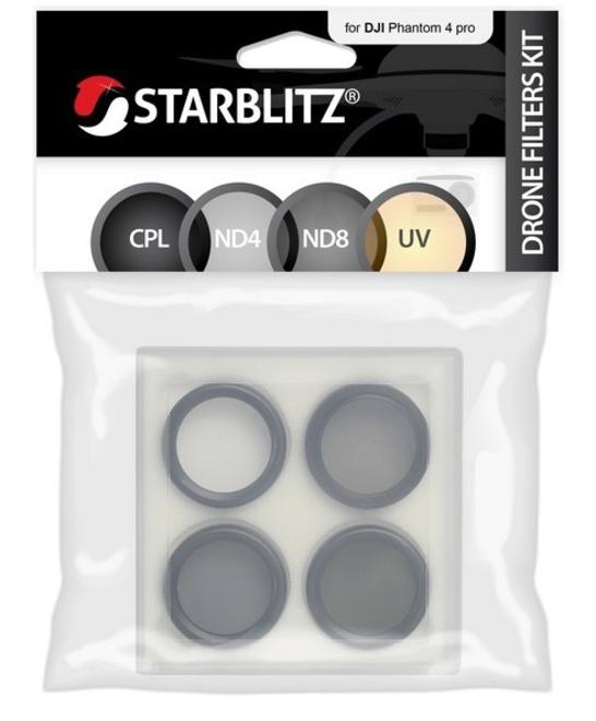 STARBLITZ Kit 4 filtres drone DJI Phantom 4 Pro