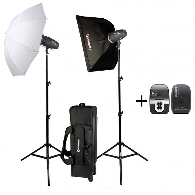 STARBLITZ kit studio.2x200ws.