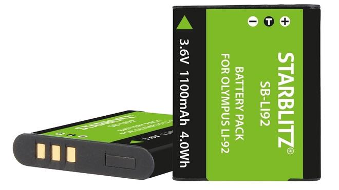 STARBLITZ Batterie compatible Olympus Li-92