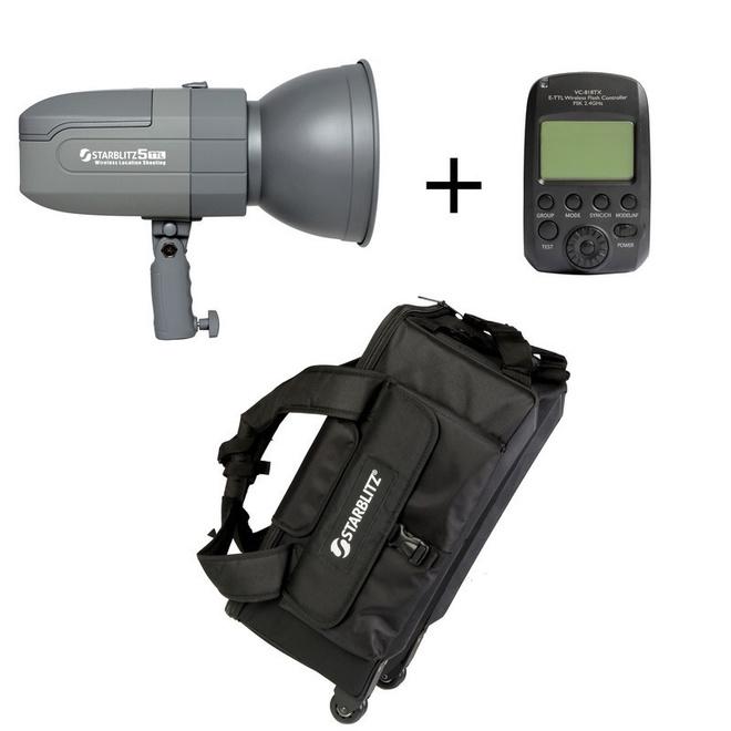 STARBLITZ Kit torche autonome 400W pour Nikon
