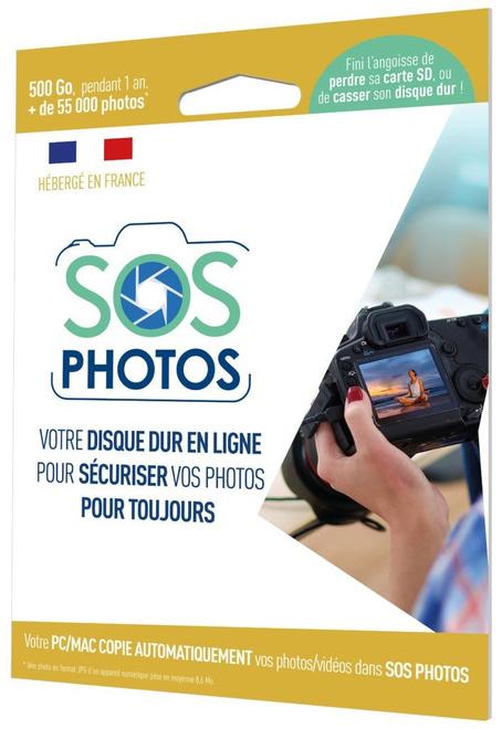 OODRIVE SOS PHOTOS 500 GO