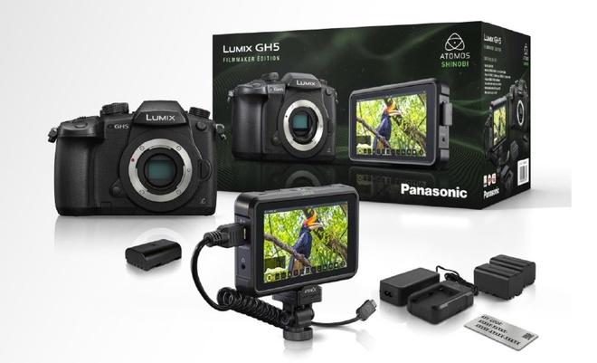 PANASONIC Kit GH 5 + batterie + VLOG FILMMAKER