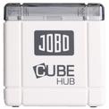 THINK TANK JOBO Lecteur de cartes CUBE HUB Blanc