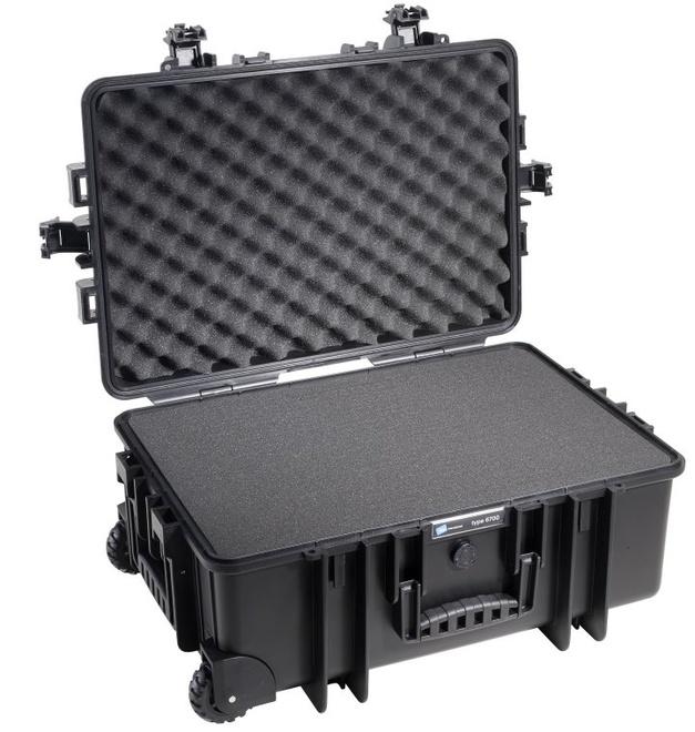 BW                        (PHOX) valise etanche tp 6700 : 534 x 357 x 225