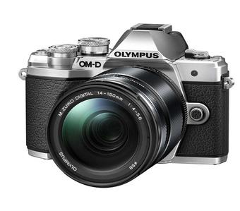 OLYMPUS OM-D E-M10 MARK III ARGENT + 14-150
