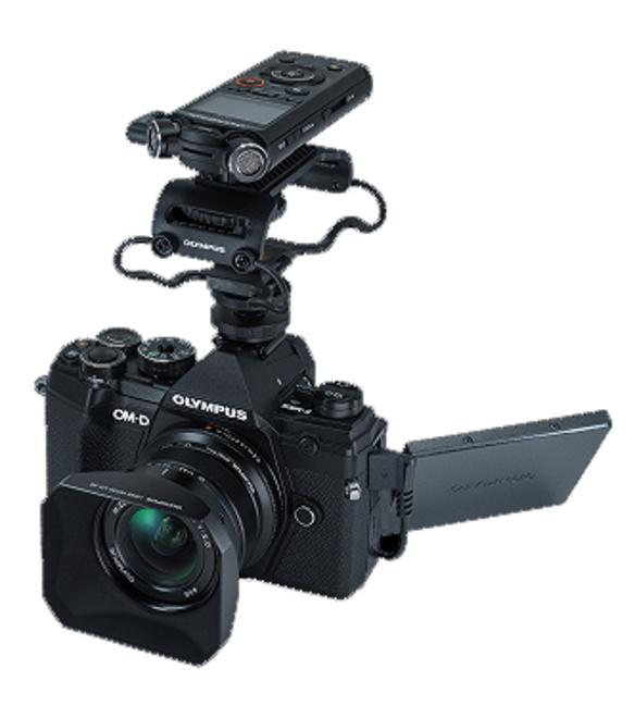 OLYMPUS OM-D E-M5 MARK III NOIR + KIT VIDEO