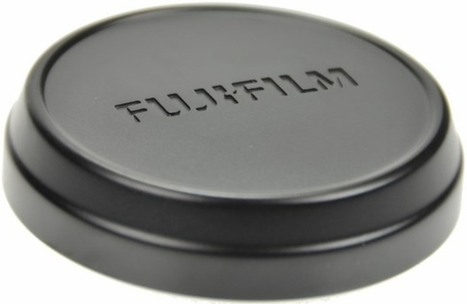 FUJI BOUCHON OBJECTIF ARRIERE FLCP-X100 NOIR