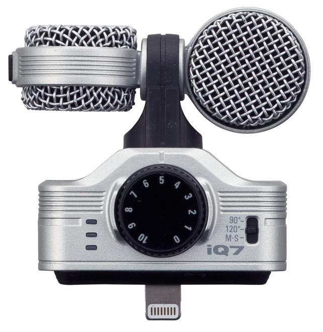 ZOOM Microphone stereo Mid-Side IQ7