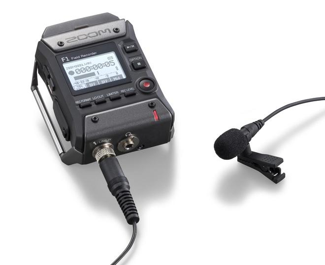 ZOOM Enregistreur 2 pistes + micro Lavalier