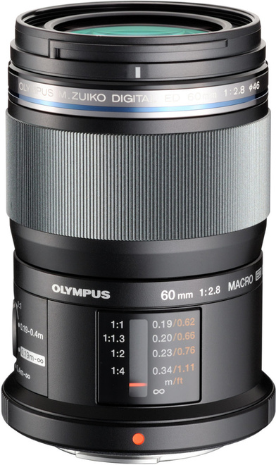 OLYMPUS 60/2.8 MACRO TROPICAL BK EM-M6028.