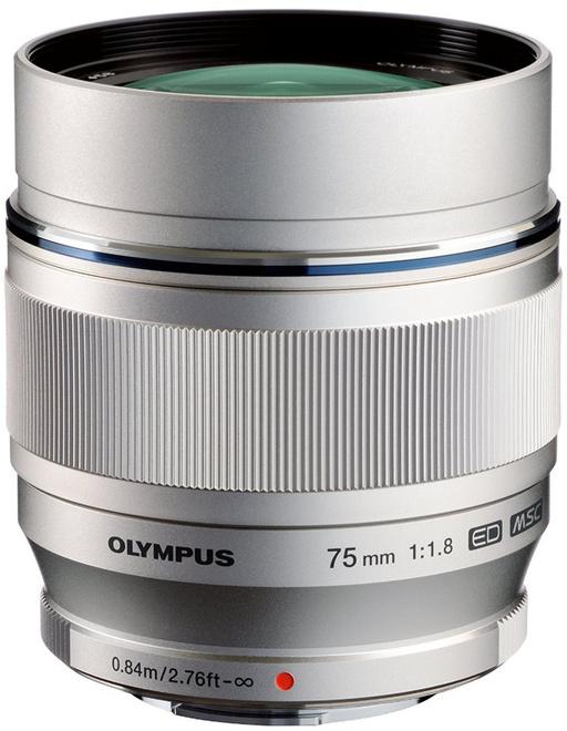 OLYMPUS 75/1.8 M.ZUIKO ED ARGENT