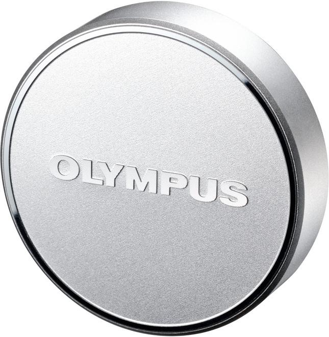 OLYMPUS BOUCHON OBJECTIF AVANT LC-48B ARGENT