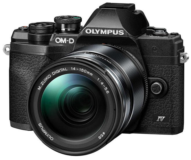 OLYMPUS OM-D E-M 10 MK IV + 14-150 NOIR