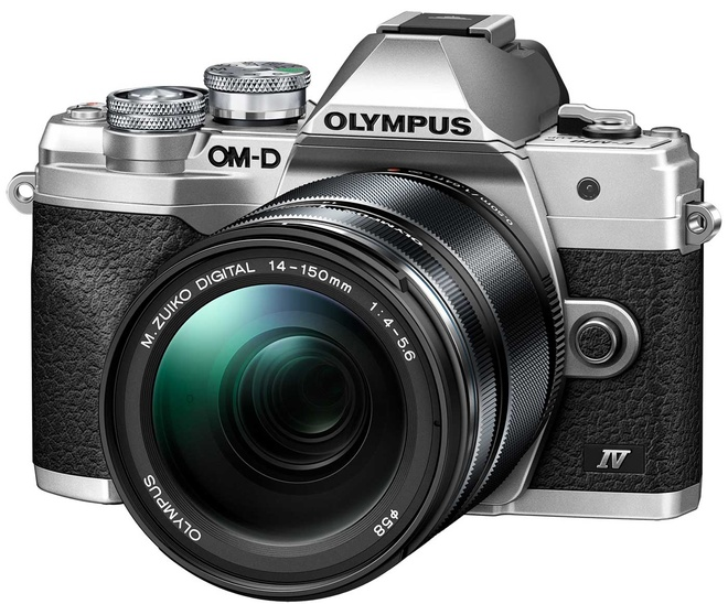 OLYMPUS OM-D E-M 10 MK IV + 14-150 ARGENT