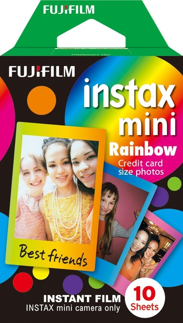 FUJI Film Instax Mini Monopack Rainbow