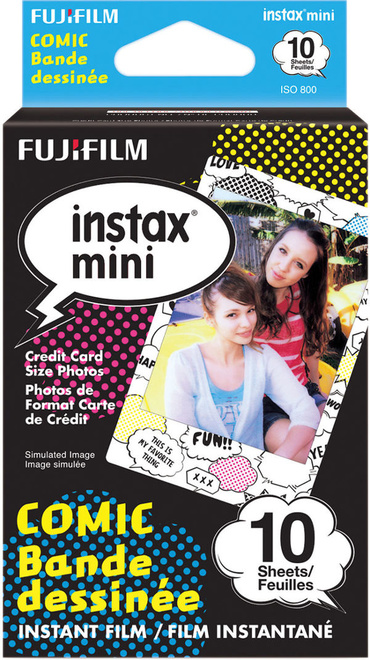 FUJI Film Instax Mini Monopack Comic