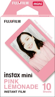 FUJI Film Instax Mini Pink lemonade 10 v
