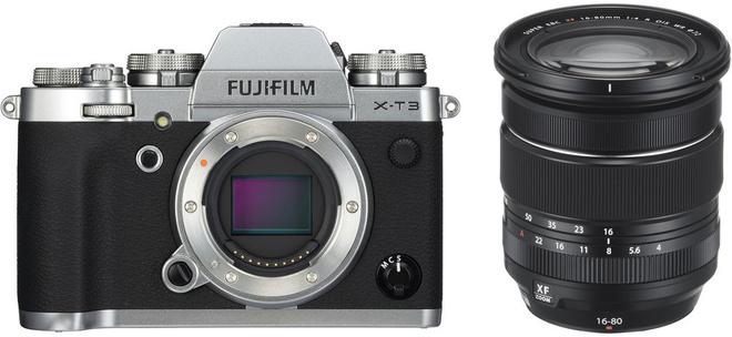 FUJI X-T3 ARGENT + XF 16-80/4