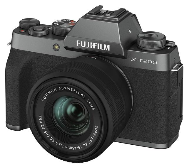 FUJI X-T200 ANTHRACITE + XC 15-45