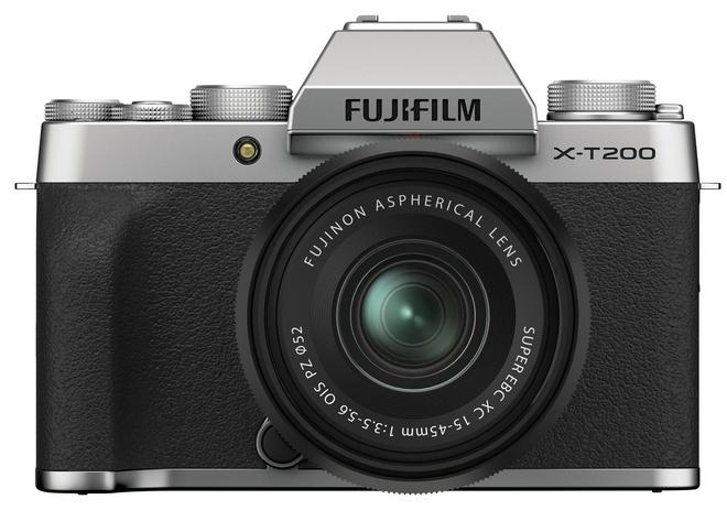 FUJI X-T200 ARGENT + XC 15-45