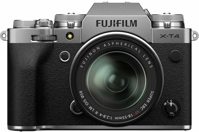 FUJI X-T4 ARGENT + XF 18-55
