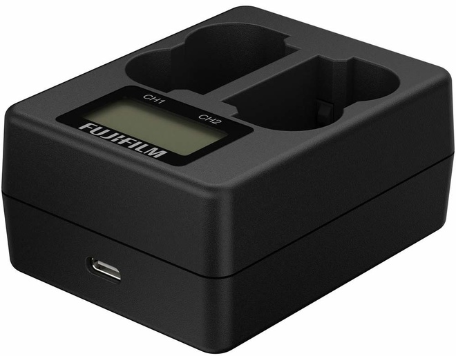 FUJI Chargeur double BC-W235