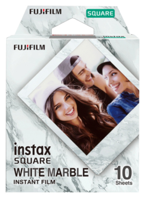 FUJI INSTAX SQUARE WHITEMARBLE WW 10 VUES