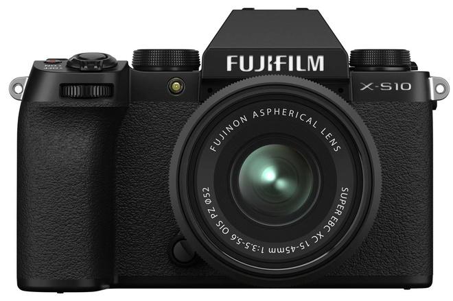 FUJI X-S10 + XC 15-45