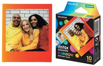 FUJI FILM INSTAX SQUARE RAINBOW WW 1 10 v