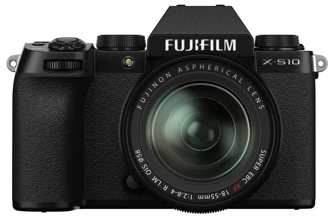FUJI X-S10 + XF 18-55