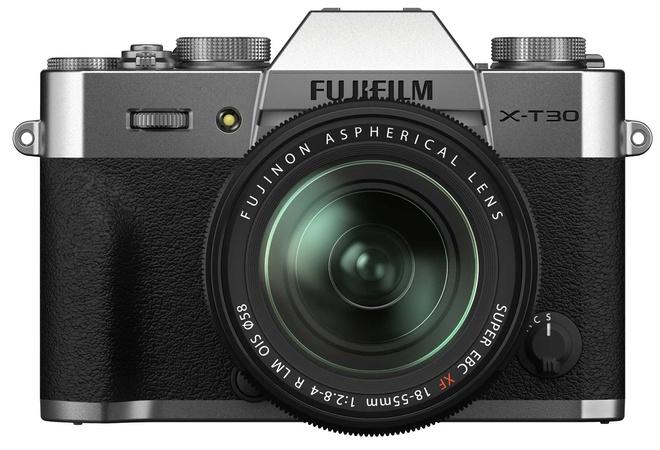FUJI X-T30 II ARGENT + XF 18-55
