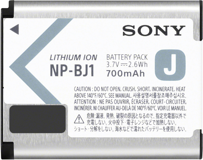 SONY BATTERIE NP-BJ1