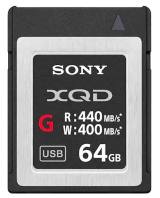 SONY XQD carte G series R440/W400 - 64Go