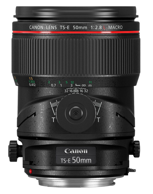 CANON TS-E 50/2.8 L MACRO
