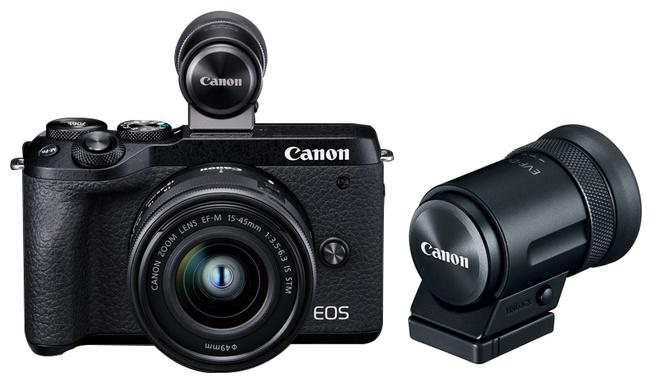 CANON EOS M6 MARK II + 15-45 + VISEUR