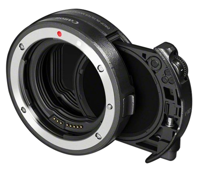 CANON BAGUE ADAPTATION DROP IN FILTRE V-ND