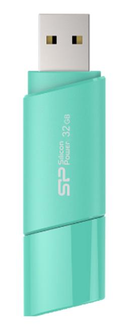SILICON POWER Cle USB ULTIMA U06 4GB Bleu Azur