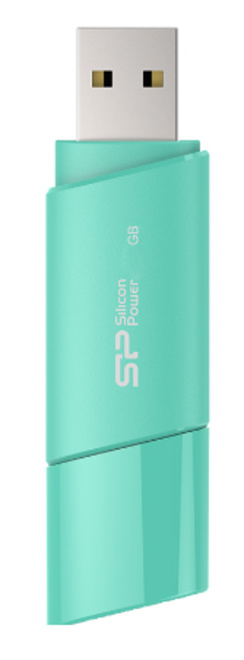 SILICON POWER Cle USB ULTIMA U06 32GB Bleu Azur