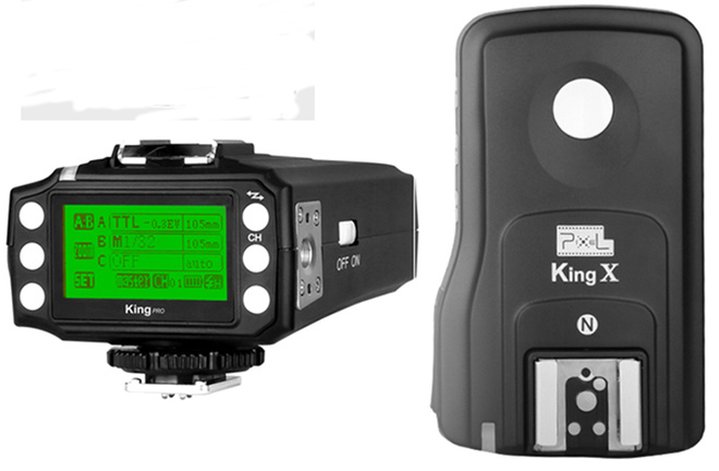 PIXEL king pro Kit emetteur/recept CANON.